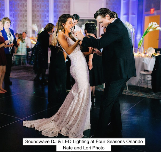 Soundwave Entertainment - Four Seasons - Wedding Blog - Orlando, fl