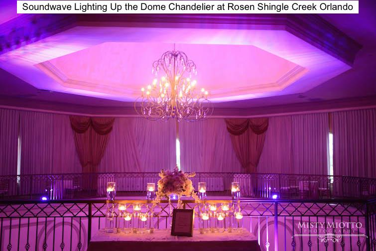 Soundwave Entertainment - Rosen Shingle Creek - Orlando Wedding Venues - Orlando DJs - LED Lighting Design