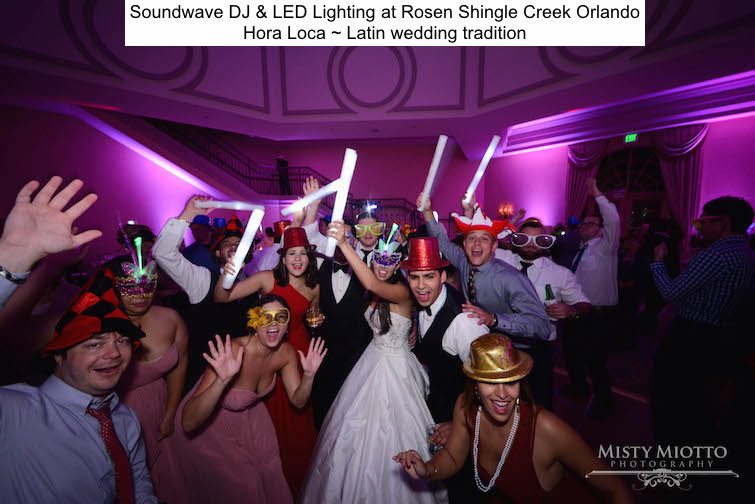 Soundwave Entertainment - Our Orlando Weddings - Rosen Shingle Creek - La hor loca - Orlando, fl