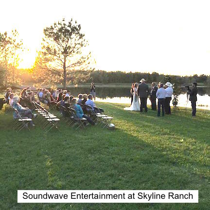 Soundwave Entertainment - Our Orlando Weddings - Skyline Ranch - Orlando, FL