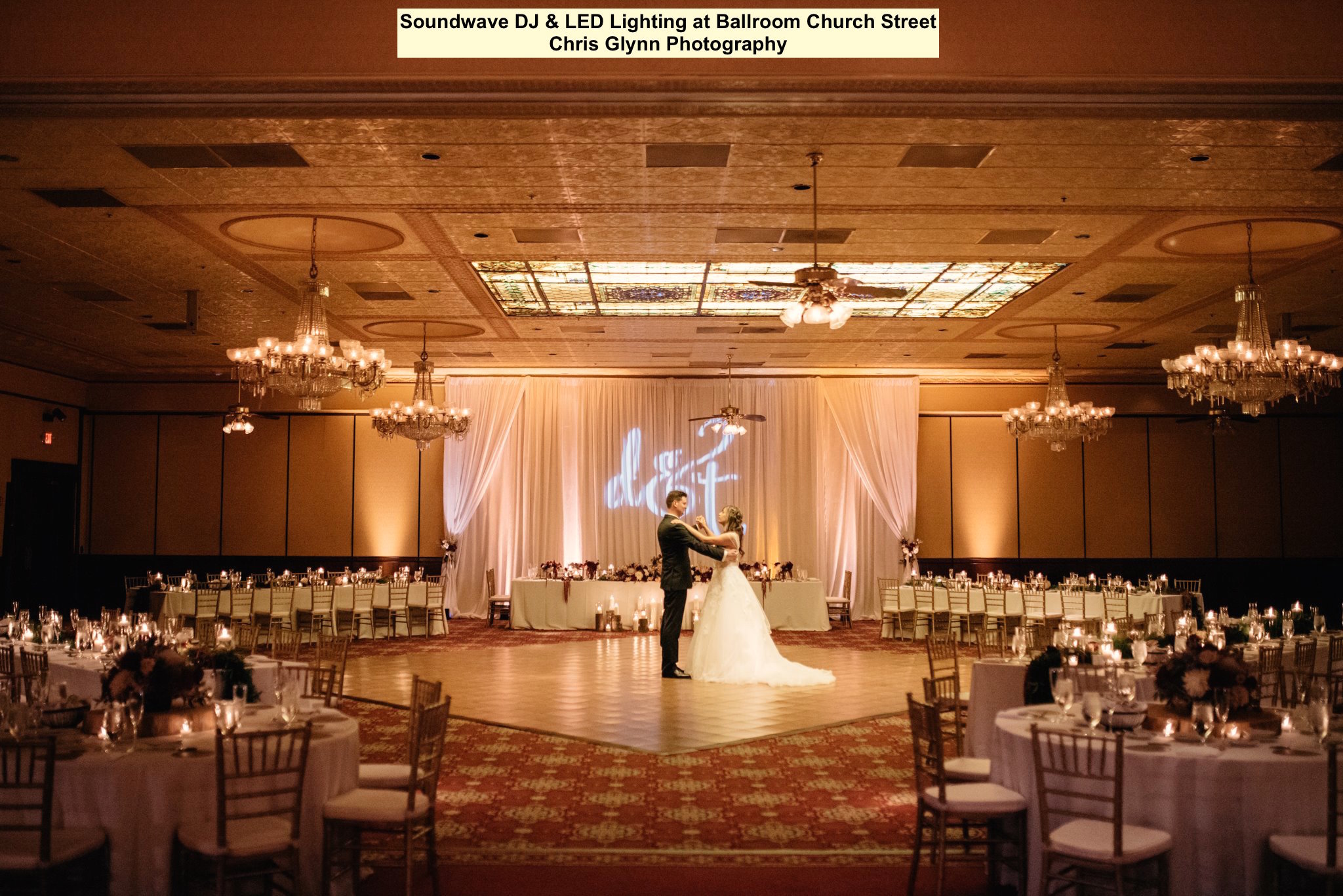 sooundwave entertainment - ballroom church street - orlando wedding dis - led lighting design - orlando wedding venues
