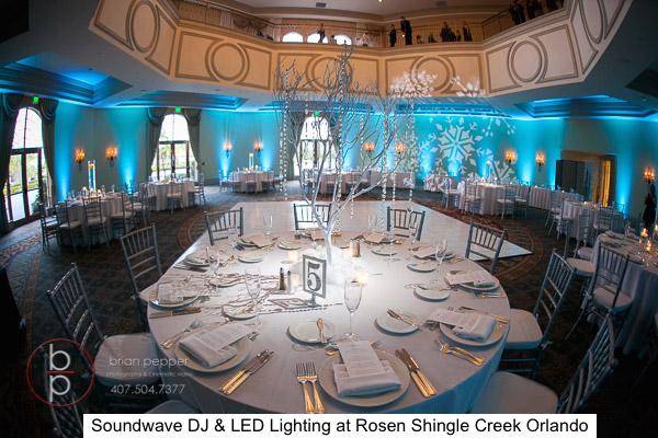 soundwave entertainment - LED Lighting Design - Orlando Wedding Venues - Orlando Wedding DJs