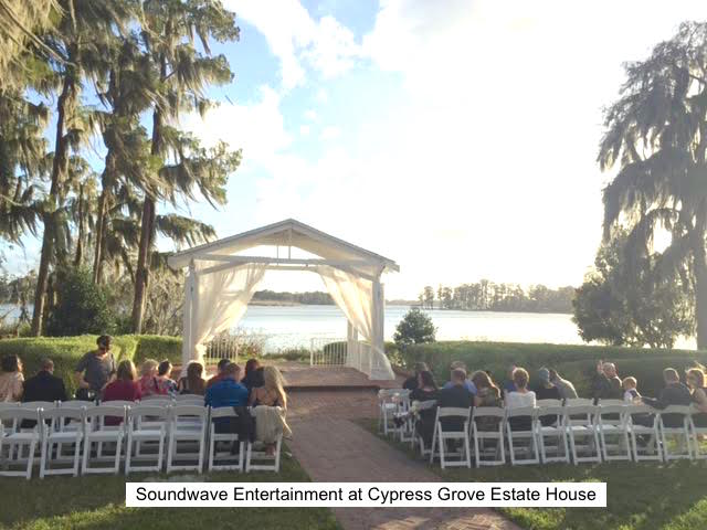 Soundwave Entertainment - Our Orlando Weddings - Cypress Grove Estate House - Orlando, FL