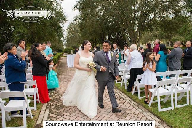 Soundwave Entertainment - Our Orlando Weddings - Reunion Resort - Orlando, FL