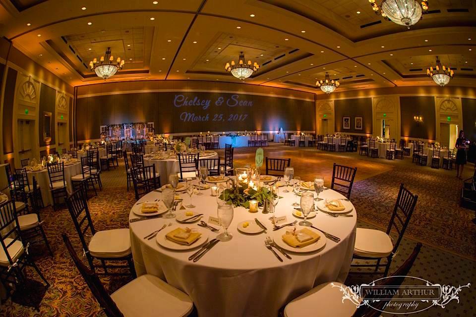 reunion resort - orlando dj - orlando LED Lighting - orlando wedding venue - soundwave entertainment