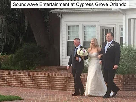 Soundwave Entertainment - Our Orlando Weddings - Cypress Grove Estate House - Orlando, FL