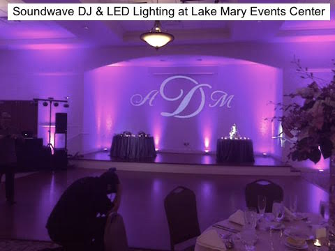 Soundwave Entertainment - Our Orlando Weddings - Lake Mary Events Center - Orlando, fl