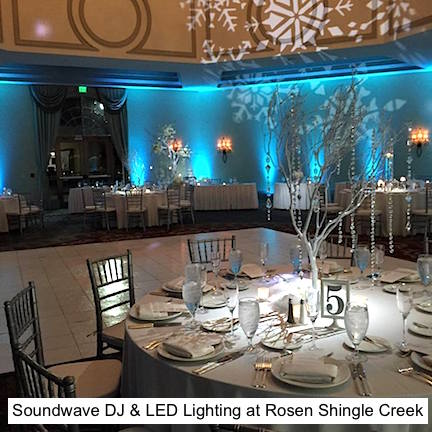 Soundwave Entertainement - Our Orlando Weddings - Rosen Shingle Creek - Orlando, FL