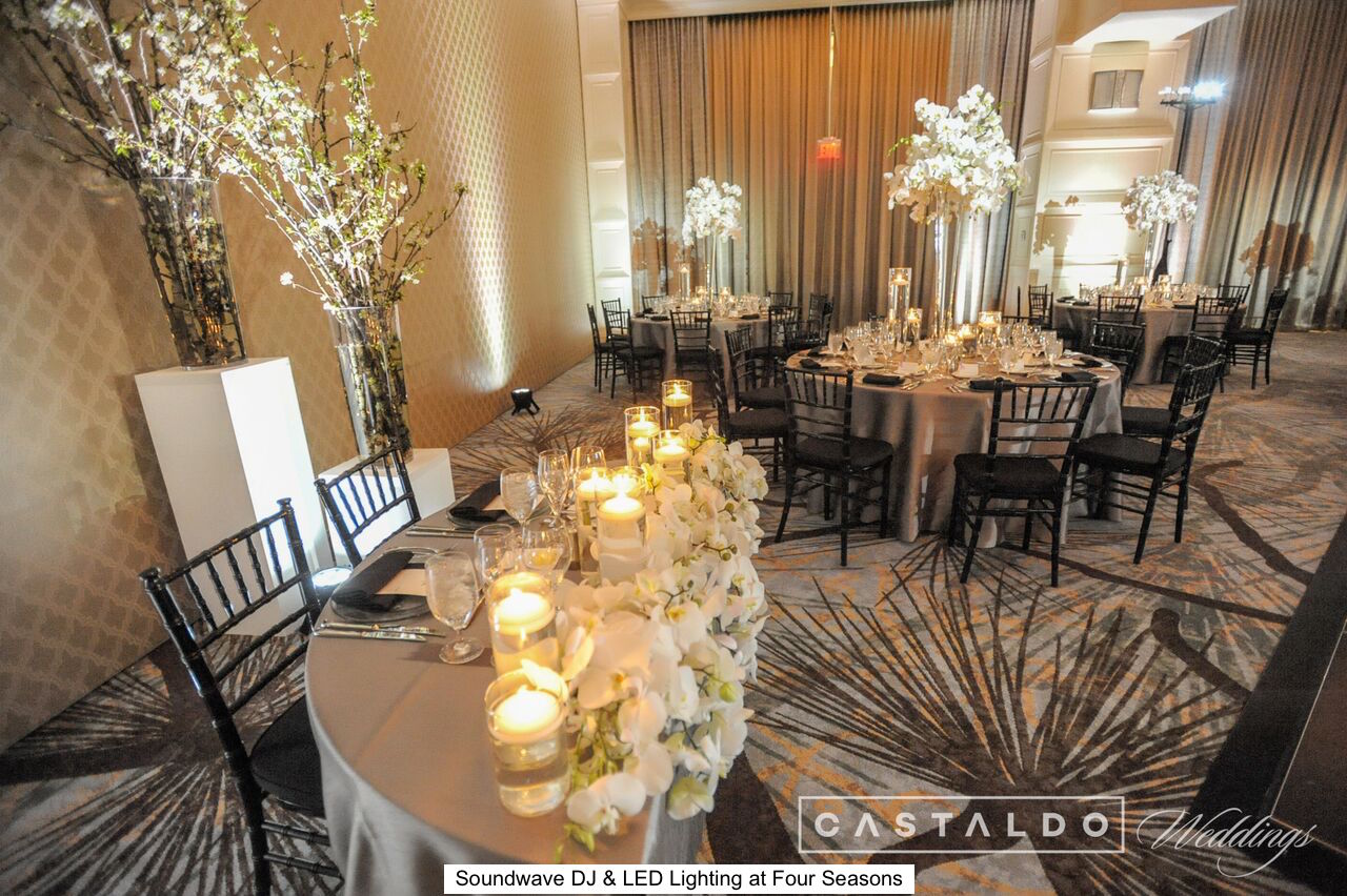 soundwave entertainment - orlando wedding venues - orlando djs - led lighting design - four seasons orlando