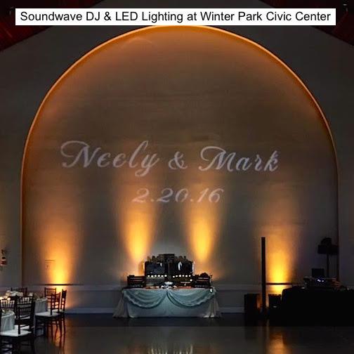 Soundwave entertainment - wedding blog - winter park civic center - orlando, fl