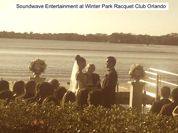 Soundwave Entertainment - Wedding Blog - Winter Park Racquet Club - Orlando, FL