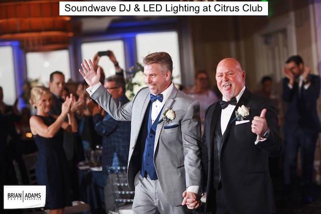 soundwave entertainment - wedding blog - citrus club - orlando, fl