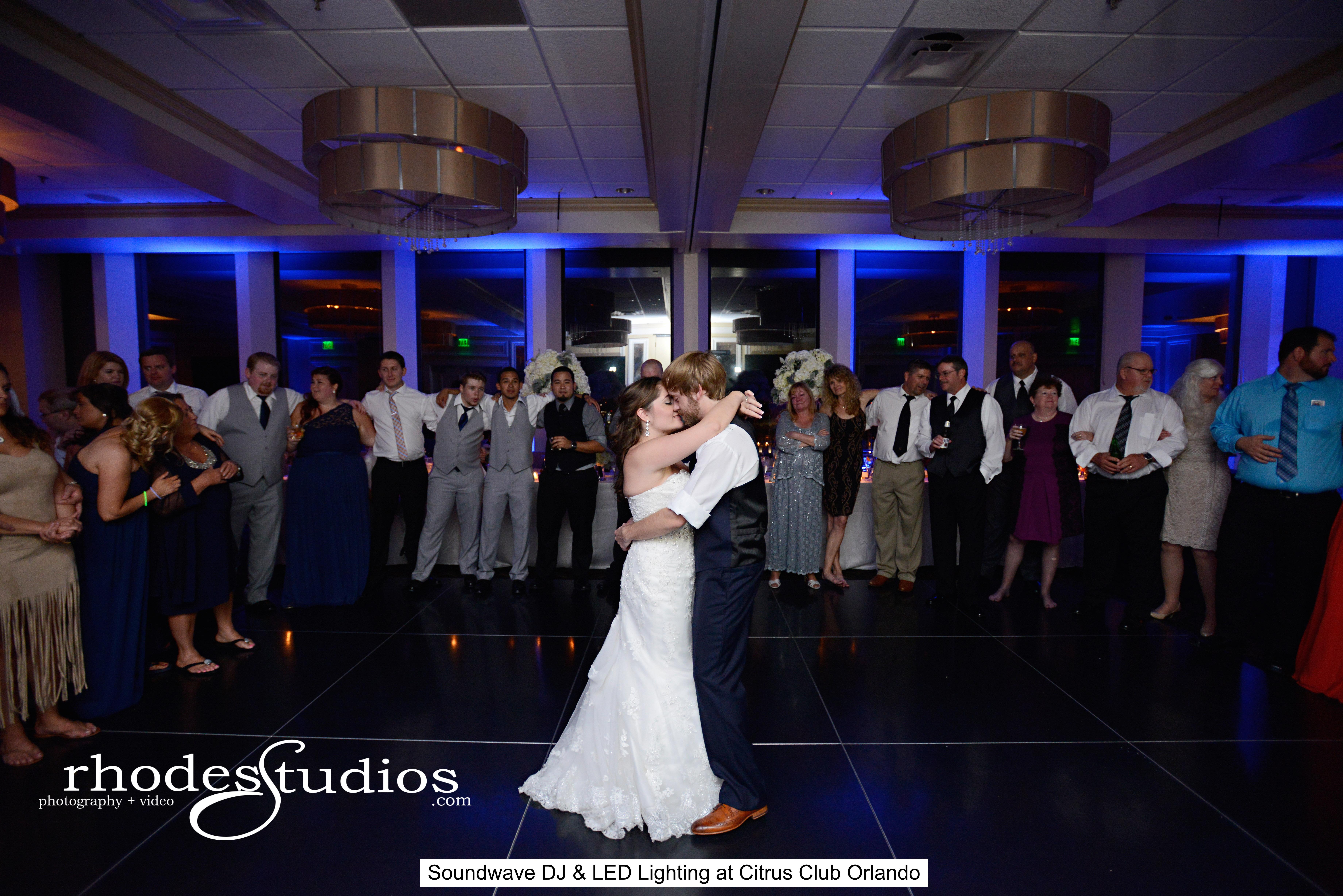 soundwave entertainment - citrus club - orlando wedding venue - orlando wedding dj - LED lighting design - Orlando, fl
