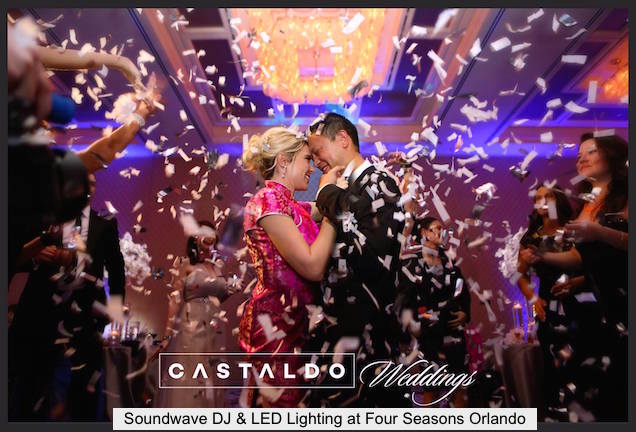 soundwave entertainment - wedding blog - four seasons orlando resort - Orlando, fl