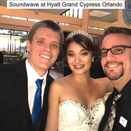 Soundwave Entertainment - Wedding blog - Hyatt rengency grand cypress - orlando, fl