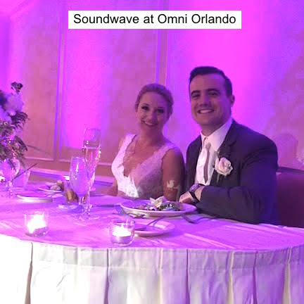 Soundwave Entertainment - Wedding Blog - Omni Orlando Resort at Championsgate - Orlando, FL