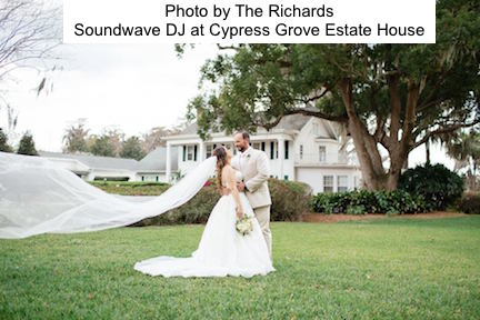 soundwave entertainment - wedding blog - cypress grove estate house - orlando, fl