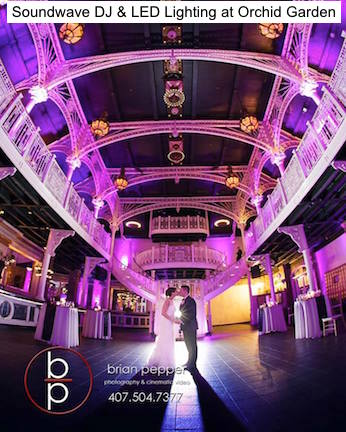 Soundwave entertainment - orchid garden - wedding blog - orlando, fl