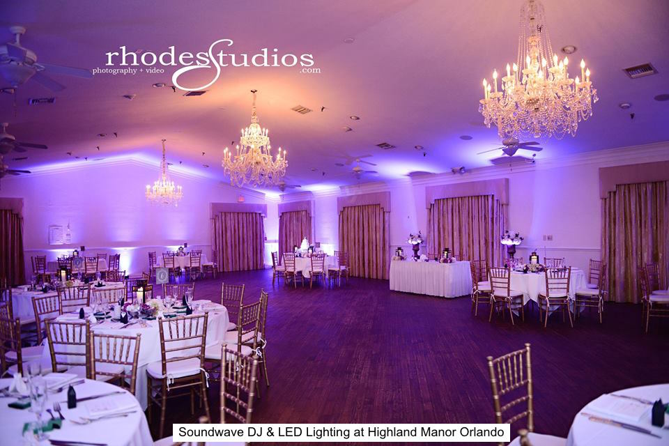 soundwave entertainment - wedding blog - highland manor - orlando, fl