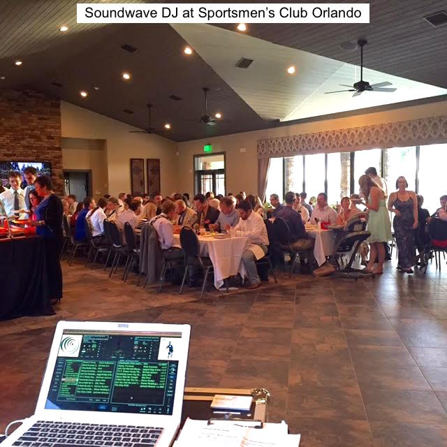 soundwave entertainment - wedding blog - orange county sportsmen's club - orlando, fl