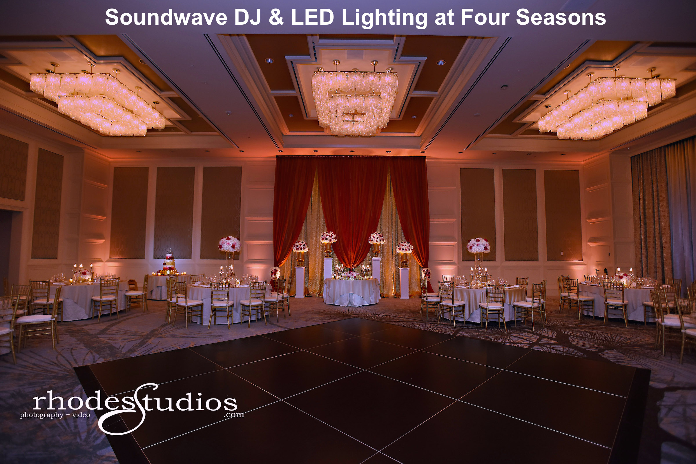 four seasons - orlando wedding venue - orlando wedding dis - orlando LED Lighting - soundwave