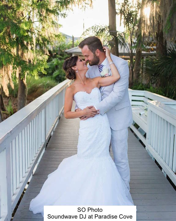 Soundwave entertainment - paradise cove - wedding blog - orlando, fl