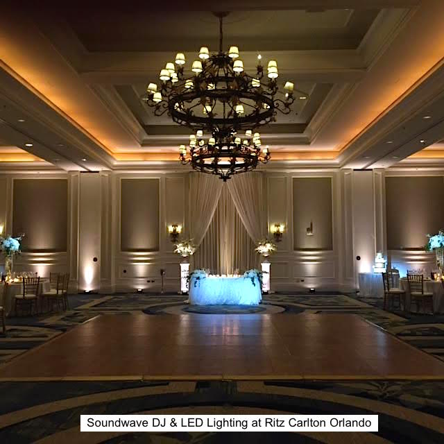 Soundwave entertainment - wedding blog - ritz carlton - orlando, fl