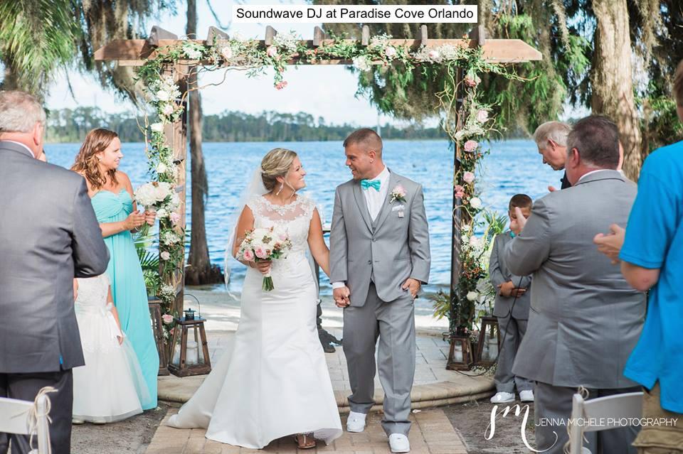 soundwave entertainment - wedding blog - paradise cove - orlando, fl