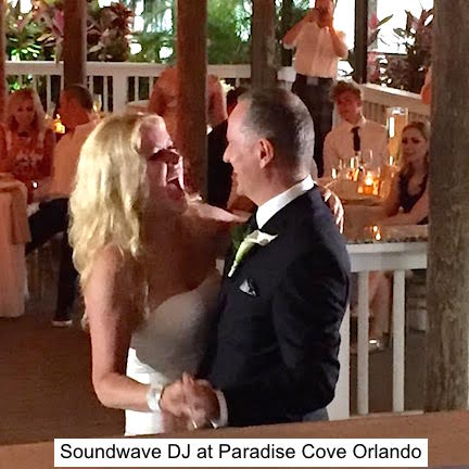 soundwave entertainment - wedding blog - paradise cove - orlando, fl