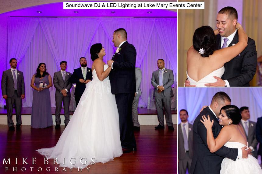 Soundwave entertainment - wedding blog - lake mary events center - orlando, fl