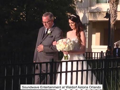 soundwave entertainment - wedding blog - waldorf astoria - Orlando, fl