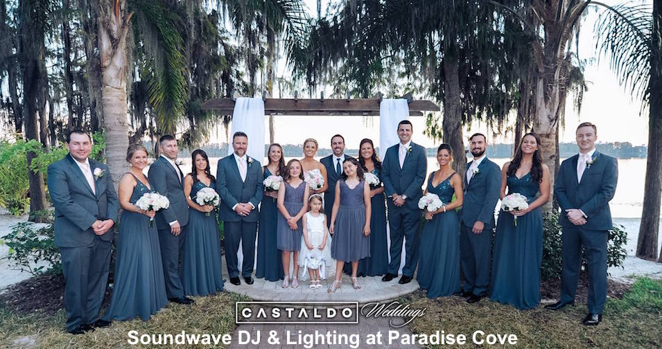 soundwave entertainment - wedding blog - paradise cove - orlando.fl