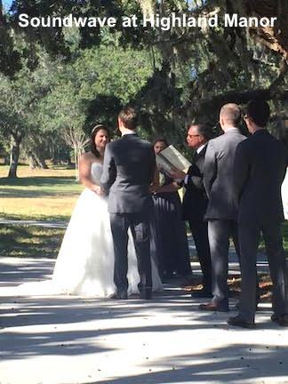 soundwave entertainment - wedding blog - highland manor - orlando, fl