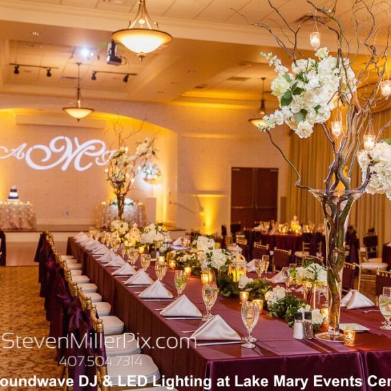 lake mary events center - orlando wedding venue - soundwave entertainment - orlando, fl