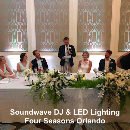 soundwave entertainment - wedding blog - four seasons resort - orlando, fl