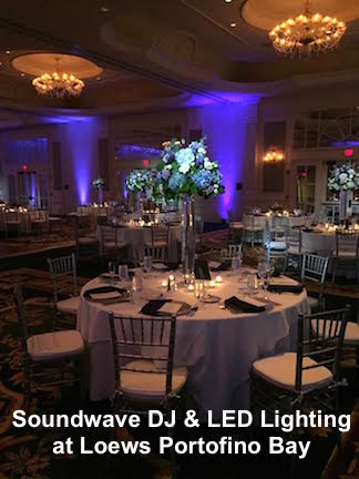 soundwave entertainment - wedding blog - loews portofino - orlando, fl