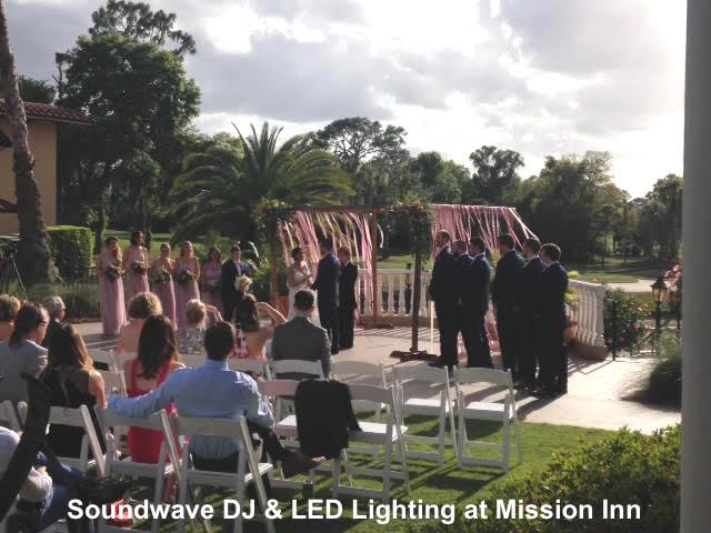 soundwave entertainment - wedding blog - mission inn - orlando, fl