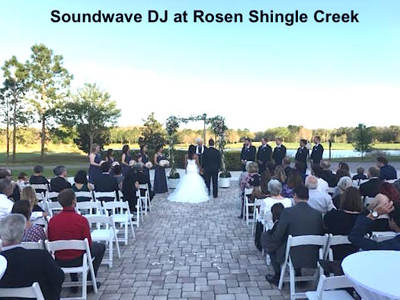 soundwave entertainment - wedding blog - rosen shingle creek - orlando, fl