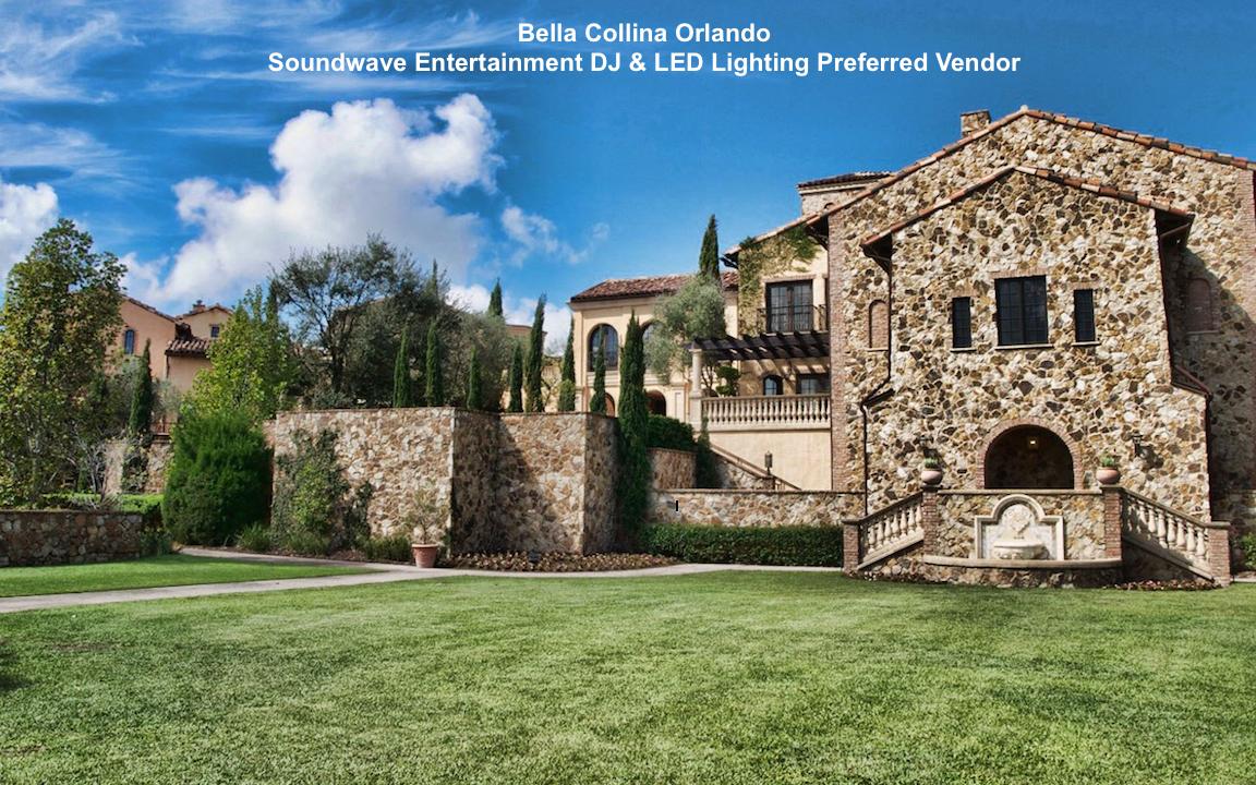 soundwave entertainment - wedding blog - bella collina -orlando, fl