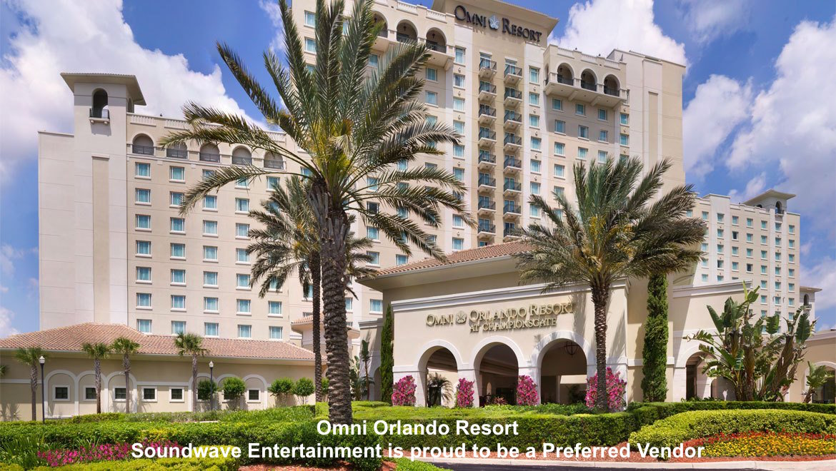 soundwave entertainment - wedding blog - omni orlando - orlando, fl