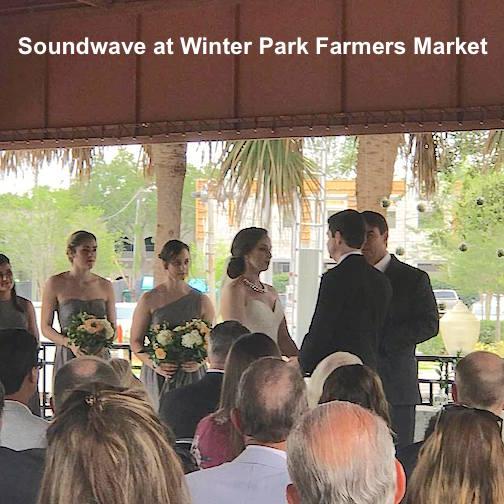 soundwave entertainment - wedding blog - winter park farmers market - orlando, fl