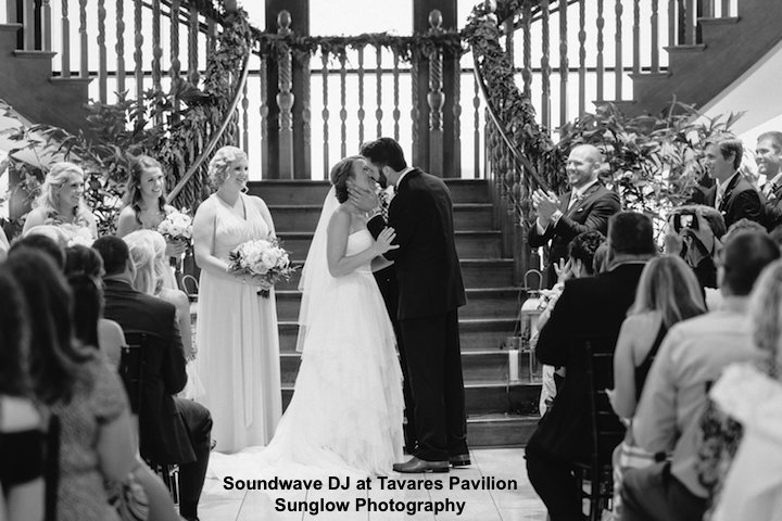 soundwave entertainment - wedding blog - tavares pavilion - orlando, fl