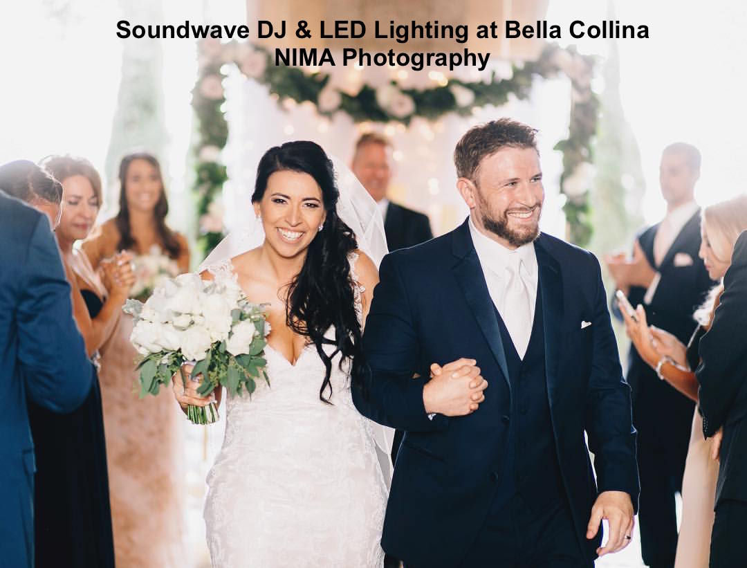soundwave entertainment - weddng blog - bella collina - orlando, fl