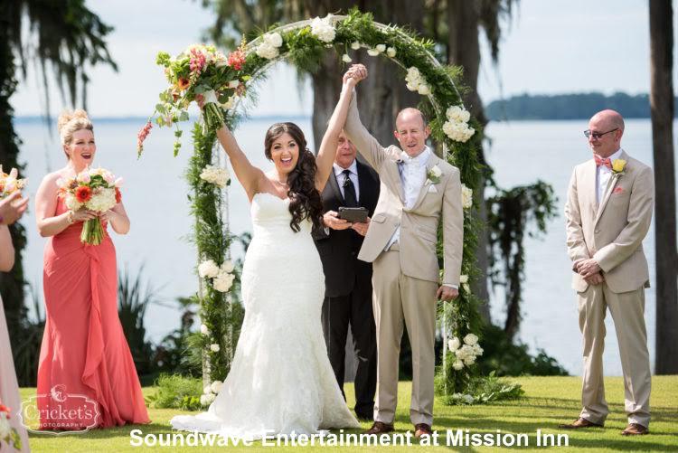 soundwave entertainment - wedding blog - mission inn - orlando, fl