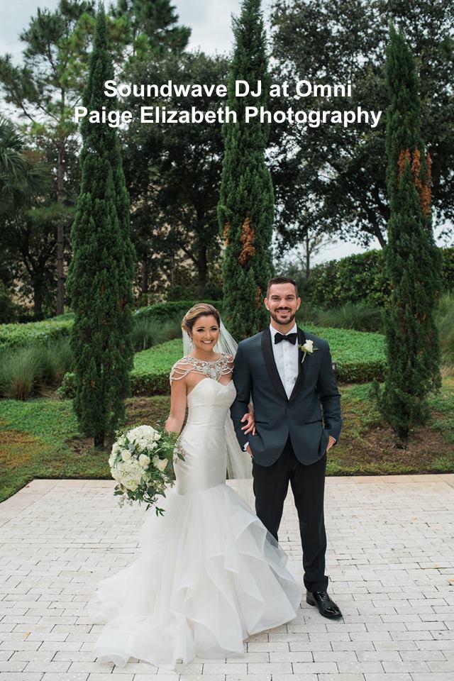 Soundwave entertainment - wedding blog - omni orlando - orlando, fl