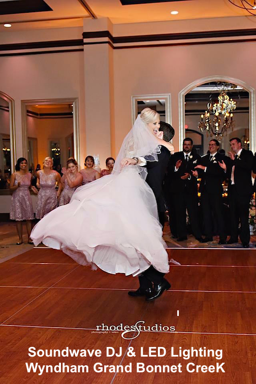 soundwave entertainment - wyndham grand bonnet creek, wedding blog - Orlando, FL