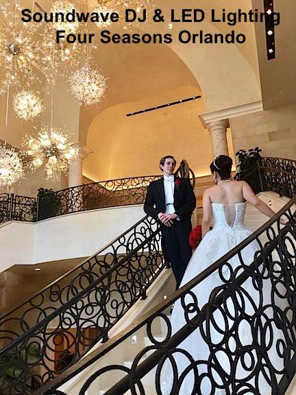 Soundwave entertainment - wedding blog - four seasons resort - orlando, fl