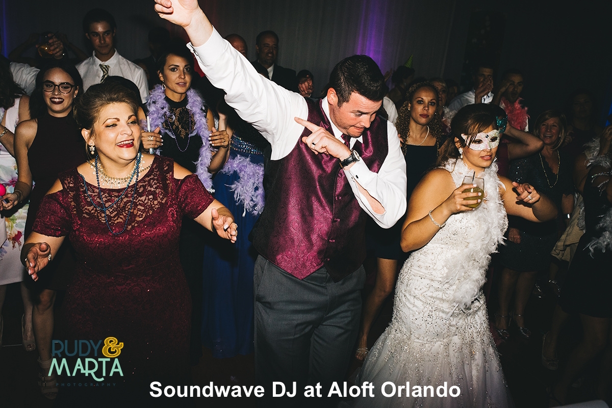 Soundwave entertainment - wedding blog - aloft downtown orlando - orlando, fl