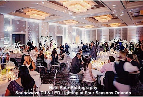 four seasons resort orlando - orlando wedding venue - orlando, fl - soundwave entertainment
