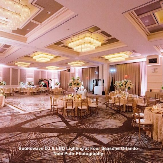 four seasons resort - orlando wedding venue - orlando wedding dj - soudnwave entertainment - orlando, fl